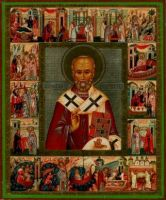 St Nicholas with Feasts