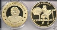 MARILYN MONROE 24KT GOLD MEMORABILIA COLLECTIBLE COIN