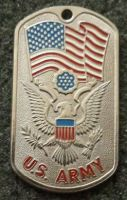 RUSSIAN DOG TAG PENDANT MEDAL US ARMY