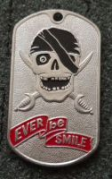 RUSSIAN DOG TAG PENDANT MEDAL SPETSNAZ EVER BE SMILE