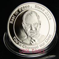 Steve Jobs Silver-plated Rare Coin