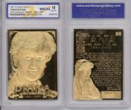 Princess Diana 23K GOLD BAR TABLET CARD