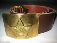 Russian Soviet Army ( USSR ) soldier uniform Belt